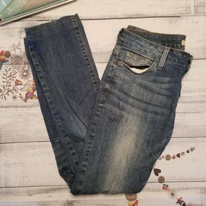 Guess Jeans 29 Skinny Dark Wash Faded Pants